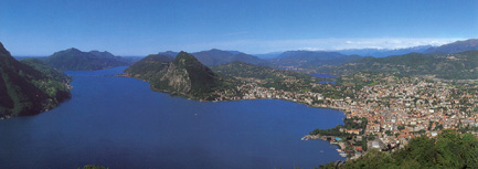 Lake Lugano / Switzerland